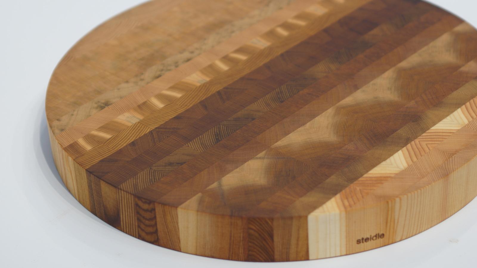End Grain Cedar Cutting Board